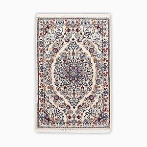 Floraler Nain Teppich mit Rand