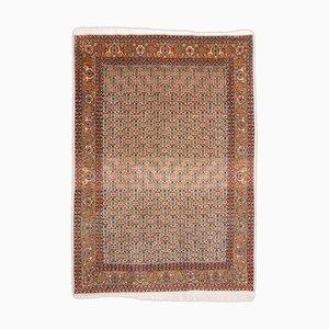 Tabriz Teppich in Terrakotta mit Rand