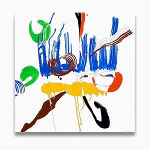 Ellen Priest, Jazz Cubano 48: Abstrakte Percussions Zeichnung, 2012, Papier & Bleistift