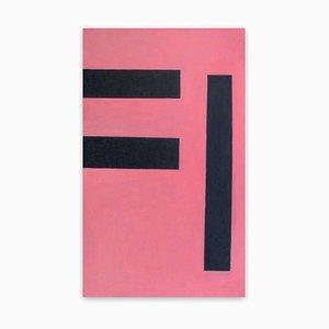 Daniel Göttin, Untitled 2 (Pink), 1992, Acrylic on Pavatex