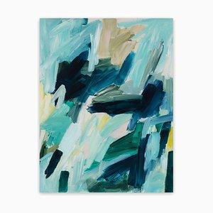 Julie Breton, Memories No.7, 2020, Acrylic on Translucent Yupo Paper