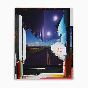 Jason Engelund, Be, 2020, Fotografia e pittura su legno
