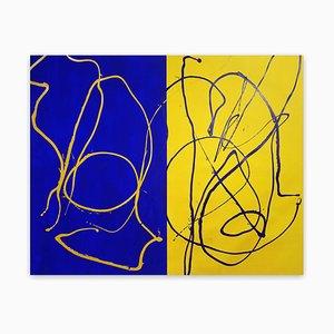 Dana Gordon, That Is, 2018, Acrylic and Flashe on Canvas