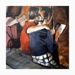 Carole Leprince, Soir d'été, 2021, Acrylic on Canvas