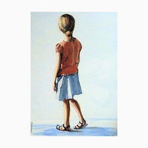 Carole Leprince, Page Blanche, 2021, Acrylic on Canvas