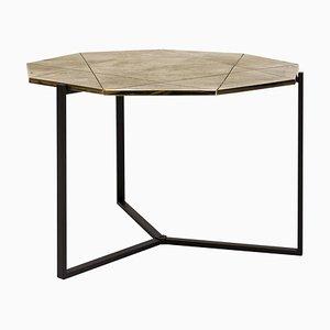 Table d'Appoint Pivot T82 Édition Limitée Ristretto / Laiton par Peter Ghyczy