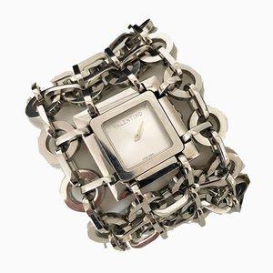 Valentino Stainless Steel Cuff Watch