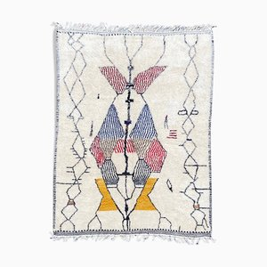 Multicolored Berber Azilal Rug