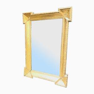 Piatto dorato a specchio