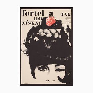 Grygar, The Knack and How to Get It, 1966, Czech A1 Film Movie Poster