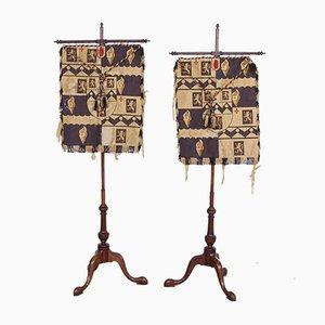 Wooden Banner Stands, Set of 2