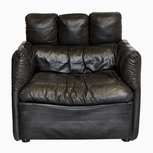 Custom Made Chancellor's Bungalow Armchair in Leather