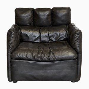 Maßgefertigter Kanzler-Armlehnstuhl aus Leder