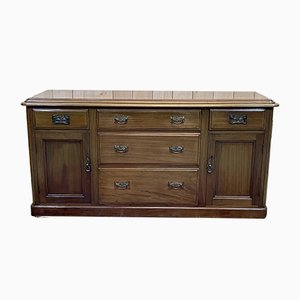 English Sideboard in Mahogany, Late 19th Century