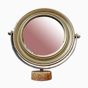 Specchio da tavolo nello stile di Sergio Mazza, Italia, anni '60