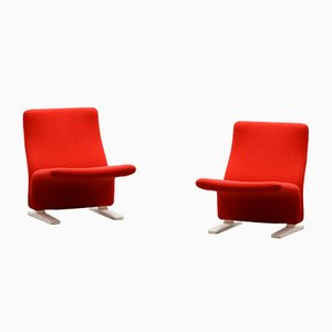 Concorde or F789 Chairs by Pierre Paulin for Artifort, 1960s, Set of 2