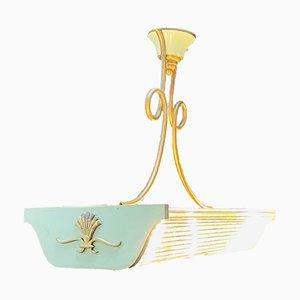 Art Deco Pool Table Lamp
