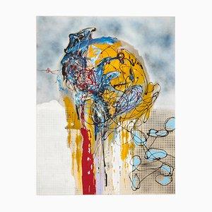 Ideas, Mixed Media on Canvas