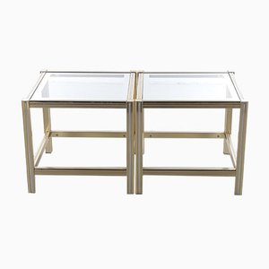 French Hollywood Regency Coffee Table or Side Table, 1970s