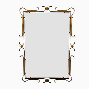 Specchio in ottone, Francia, anni '40
