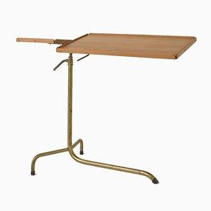 Tavolino con altezza regolabile di Hausmann AG, Svizzera, anni '20