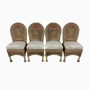 Tiki Conservatory Chairs, Set of 4