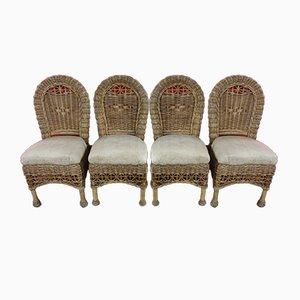 Tiki Wintergarten Stühle, 4er Set