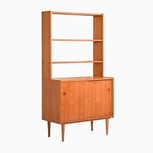 Bücherregal mit kleinem Sideboard, Skandinavien, 1960er