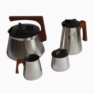 Tee- und Kaffeeservice von Axel Enthoven für Demeyere Werkhuizen, 1971, 4er Set