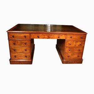 Viktorianischer Partner Schreibtisch