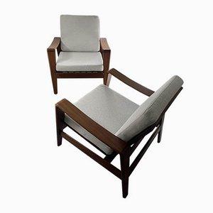 Model 35 Armchairs by Arne Wahl Iversen for Komfort, 1960s, Set of 2