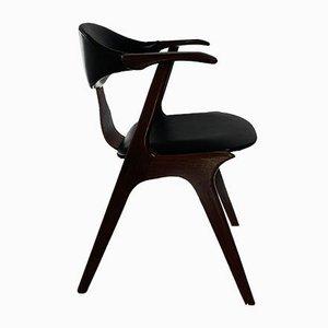 Vintage Cow Horn Stuhl von Louis Van Teeffelen für Awa, 1950er