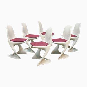 Modell 2005 Stühle A. Begge für Casala, 1972, 6er Set