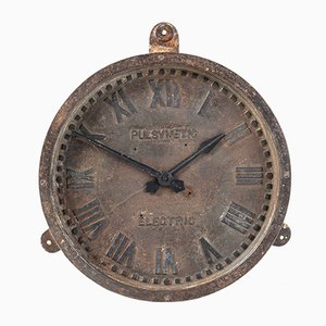 Cast Iron Wall Clock from Gents of Leicester