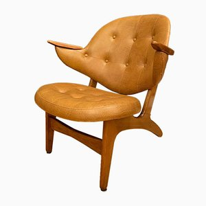 Model 33 Armchair by Carl Edward Matthes, Denmark, 1950s