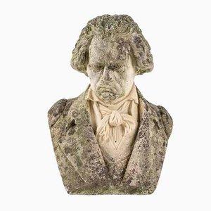 Steinbüste von Beethoven