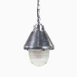 Industrial Holophane Pendant Lamp