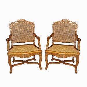 Stühle aus dem späten 19. Jahrhundert, 2er Set