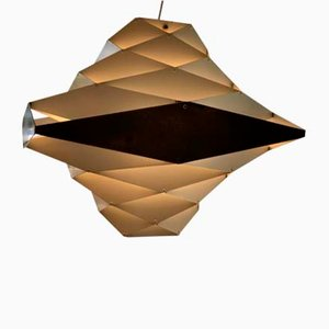 Large Synfoni Hanging Lamp by Priving Dal for Folsgaard, Denmark, 1960s