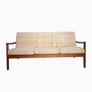 Senator Mid-Century Teak Sofa by Ole Wanscher for Cado, Denmark, 1960s