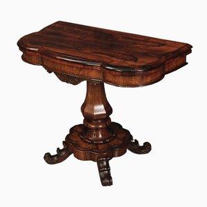 Tavolo da gioco in palissandro