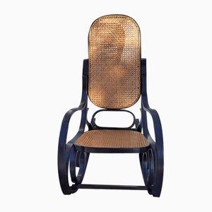 Rocking Chair en Bois Courbé de Thonet