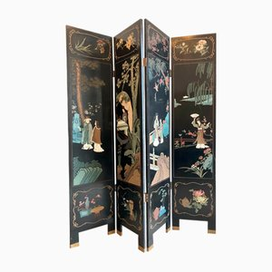 Chinese Paravent Room Divider, 1960s