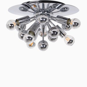Aplique o lámpara de techo Sputnik de Gaetano Sciolari para Boulanger