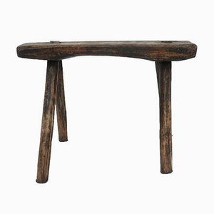 Primitive Stool in Solid Wood