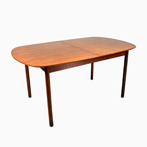 Extendable Teak Dining Table from Faram, Italy, 1960s