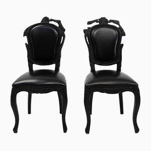 Smoke Chairs by Maarten Baas for Moooi, 2000s
