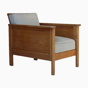Langer Sessel von Cornelis Van Der Sluys, 1930er