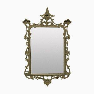 Antiker bemalter Spiegel im George III Stil