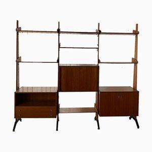 Teak Bookshelf by Vittorio Dassi, 1960s